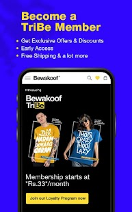 Bewakoof - Online Shopping App for Men & Women Screenshot