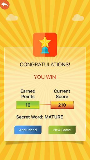 Hangman Multiplayer - Online Word Game 7.8.1 screenshots 8