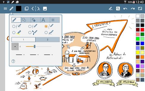 HandWrite Pro Note & Draw Premium MOD APK 3