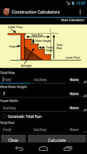 Handy Construction Calculator 7.58 (MOD + APK) Download 1