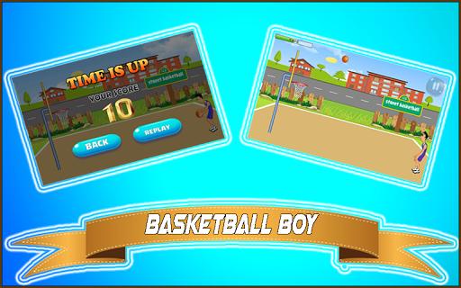 basketball boy – basket shot screenshot 3