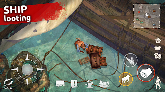 Mutiny: Pirate Survival APK (MOD, Free Craft) for Android 4