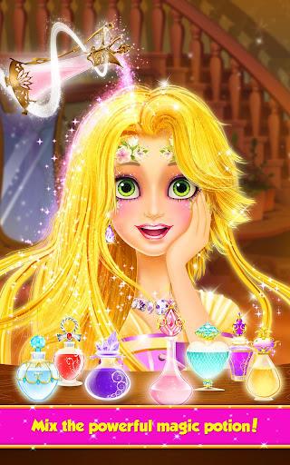 Long Hair Princess Hair Salon 1.8 screenshots 2