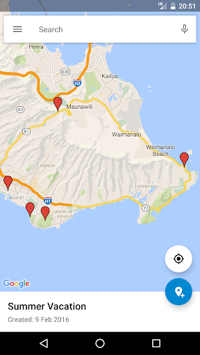 Google My Maps 2.2.1.4 Screenshots 2