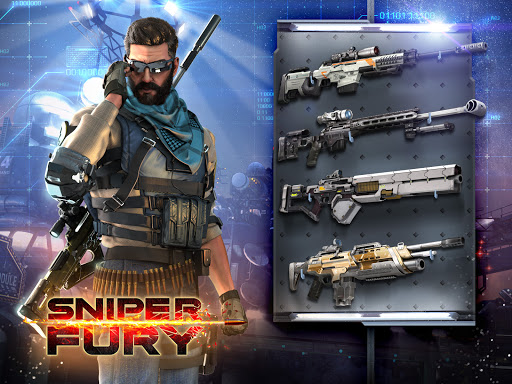 Sniper Fury: Online 3D FPS & Sniper Shooter Game 5.6.1c screenshots 1