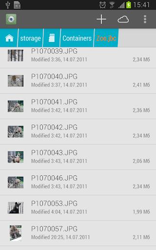 BestCrypt Explorer screenshots 5