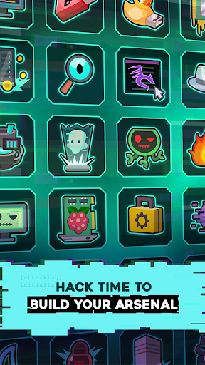 Hacking Hero - Cyber Adventure Clicker screenshots 4