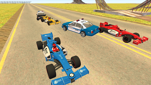 Formula Car Racing u2013 Police Chase Game 1.20 screenshots 12