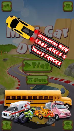 mad car drive 2d: crazy driver screenshot 2