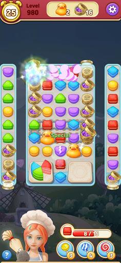 Sweet Macaron : Match 3 android2mod screenshots 14