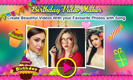 Birthday Video Maker with Song and Name 2021 android2mod screenshots 11
