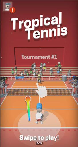 Télécharger Gratuit Tennis Clash  APK MOD (Astuce) screenshots 1