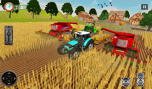 Farming Tractor Driver Simulator : Tractor Games android2mod screenshots 15
