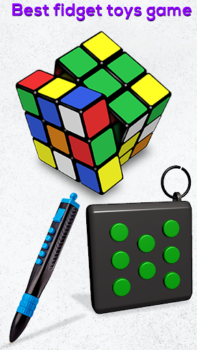 Fidget Cubes 3D Toys - Antistress & anti anxiety 1.2 screenshots 7