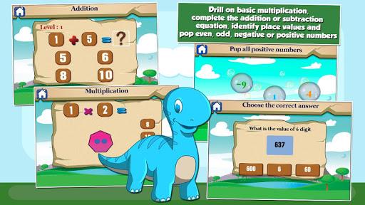 Dino Grade 2 Games screenshots 2