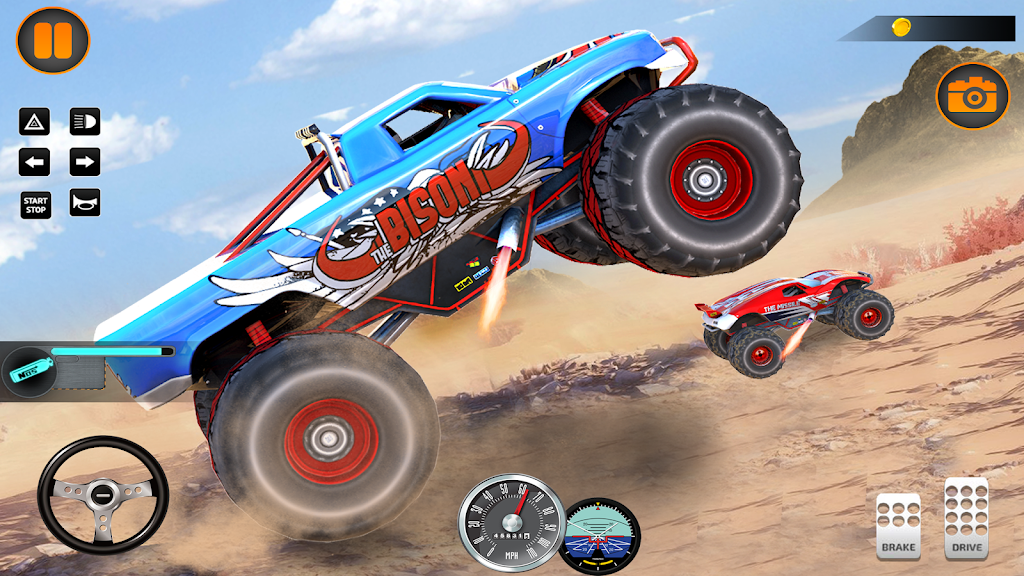 Monster Truck Off Road Racing 2020: Offroad Games  poster 0
