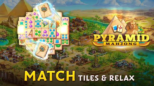 Pyramid of Mahjong: A tile matching city puzzle screenshots 9
