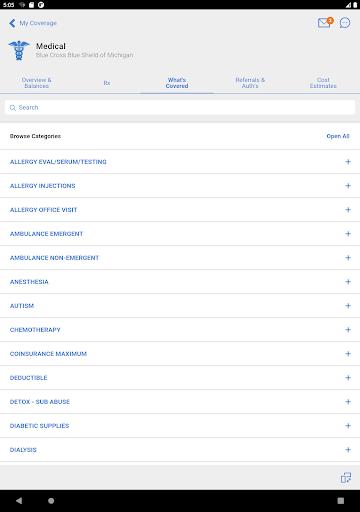 BCBSM modavailable screenshots 8