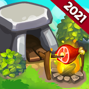 Caveman Dash - time management game
