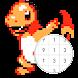 番号によるpokepixの色-アートピクセルカラーリング