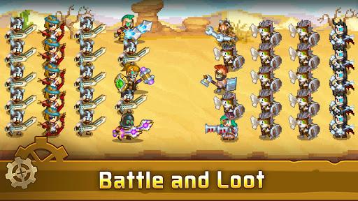 Steam Town: Farm & Battle, addictive RPG game  screenshots 6