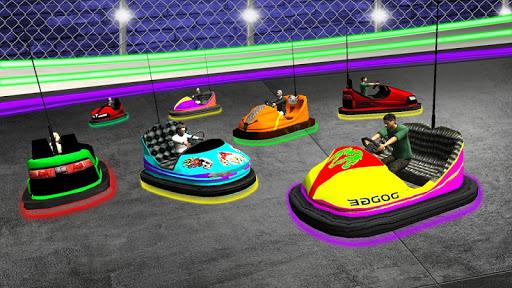 Light Bumping Cars Extreme Stunts: Bumper Car Game  screenshots 8