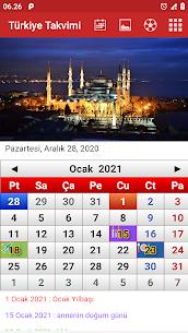 Türkiye Takvimi 2021  For Pc – Safe To Download & Install? 1