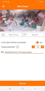 Gift-a-Deed app