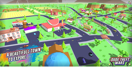 Dude Theft Wars: Open World Sandbox Simulator BETA goodtube screenshots 5
