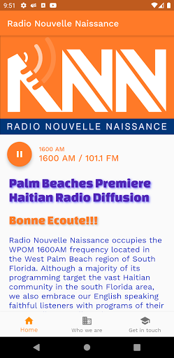 Radio Nouvelle Naissance screenshots 1