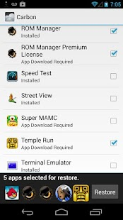 Helium - App Sync and Backup Screenshot