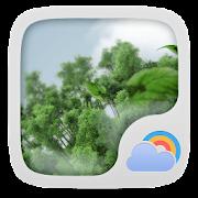 Windy Day Weather Widget Theme  Icon