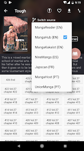 Manga Geek - Free Manga Reader App Screenshot