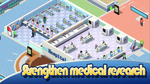 Idle Hospital Tycoon - Doctor and Patient  screenshots 12