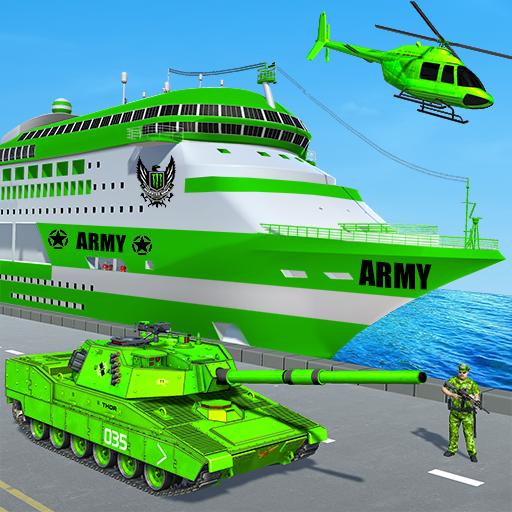US Army Ship Transport:Tank Simulator Games
