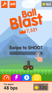 Download Ball Blasted MOD Apk [Unlimited Money/Daimonds/Coins] 6