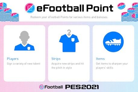 eFootball PES 2021 Mod Apk 5.5.0 (Unlimited Money) 1