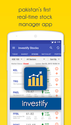 Investify Stocks PSX (Pakistan Stock Exchange) screenshot