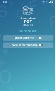 Accumulator PDF creator 10