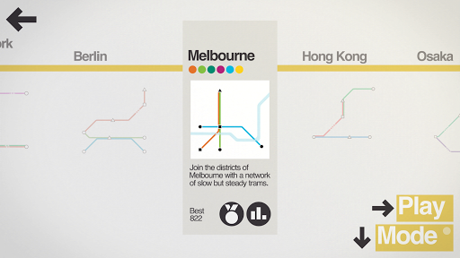 Mini Metro Varies with device screenshots 3