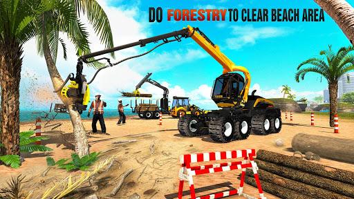 Beach House Builder Construction Games 2021 screenshots 1