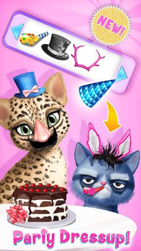 Cat Hair Salon Birthday Party - Virtual Kitty Care 8.0.80007 screenshots 6