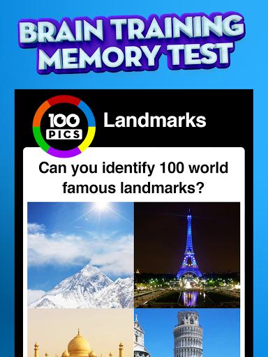 100 PICS Quiz - Guess Trivia, Logo & Picture Games Apkfinish screenshots 15