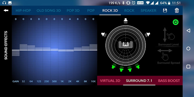 Music Player 3D Surround 7.1 (FREE) 2.0.75 Screenshots 6