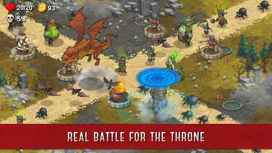 Throne Offline Mod Apk (Unlimited Money/Diamonds) 4