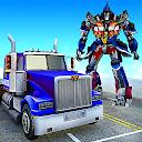 Police Truck Robot Superhero Transform Robot War