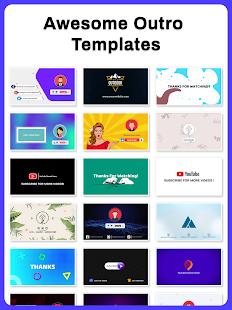 Intro Maker, Outro Maker, Intro Templates 32.0 Screenshots 18