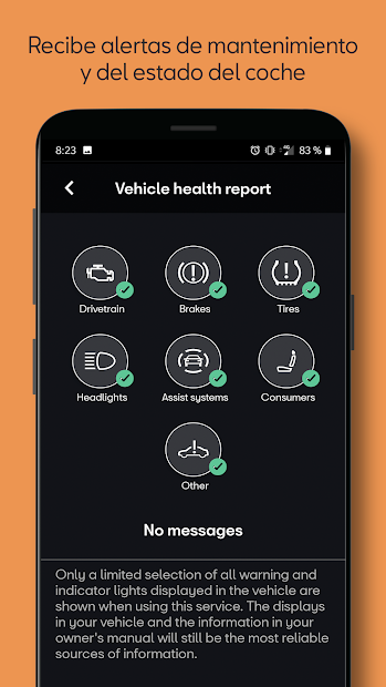 Captura de Pantalla 6 de SEAT CONNECT App para android