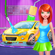 Girls Car Wash Salon Auto Workshop