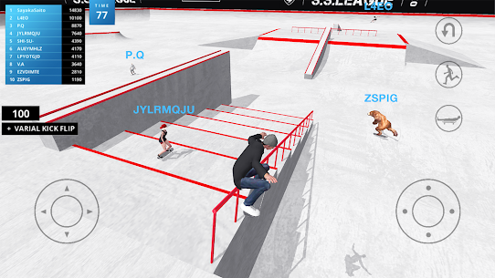 Skate Space Mod Apk 1.441 (Lots of X Currency) 1